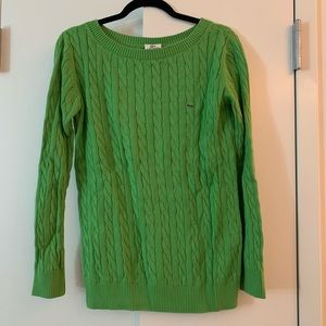 Green Spring Lacoste Sweater